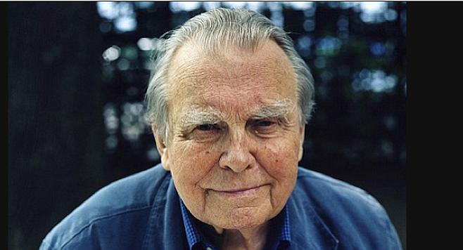 Czeslaw Milosz - had a conversation with John Paul II about his poetry