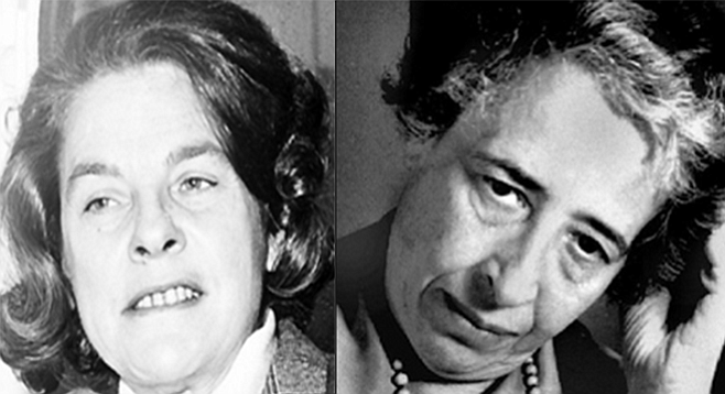 Mary McCarthy and Hannah Arendt