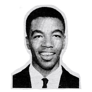 "The author as a sophomore at St. Augustine High School, 1960. ""When I left San Diego, it was easy to keep going."""