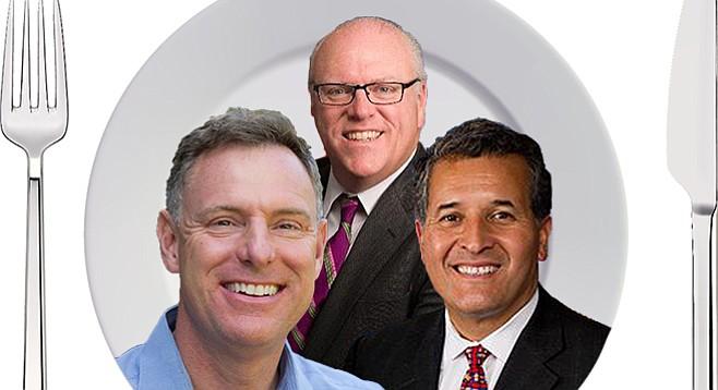 Scott Peters, Joe Crowley, Juan Vargas