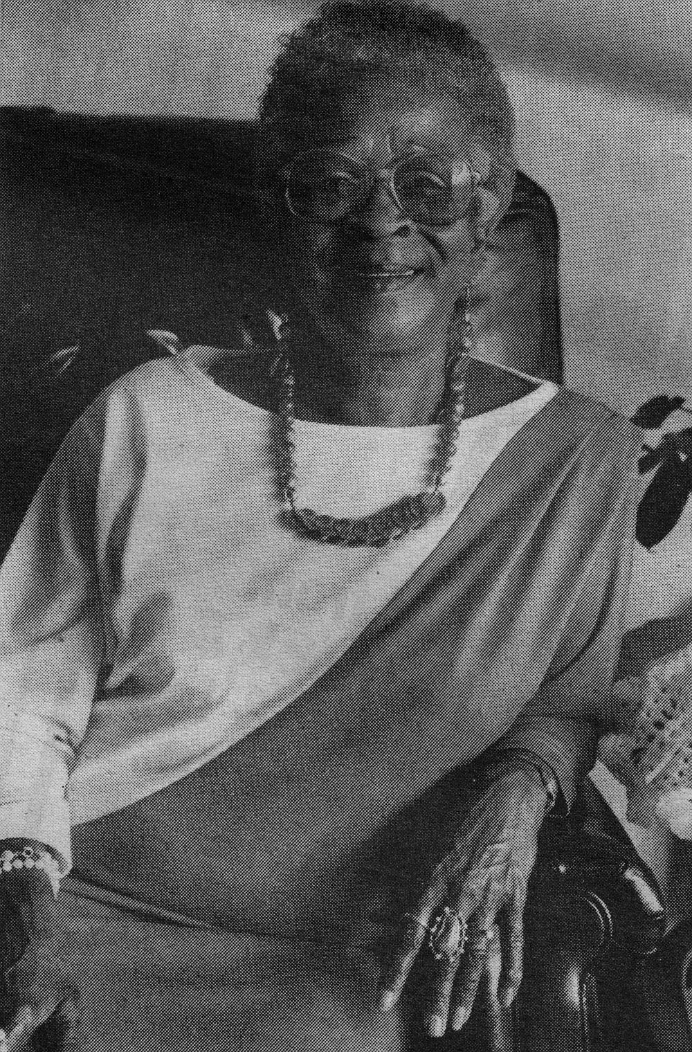 "Doris Johnson: ""Cosmetics for black women were not as beautiful as they are now."""