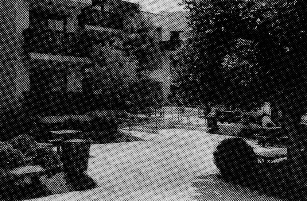 Golden Age Garden Apartments. I had been told that while the complex's population of 76 was not entirely black, it was largely so.