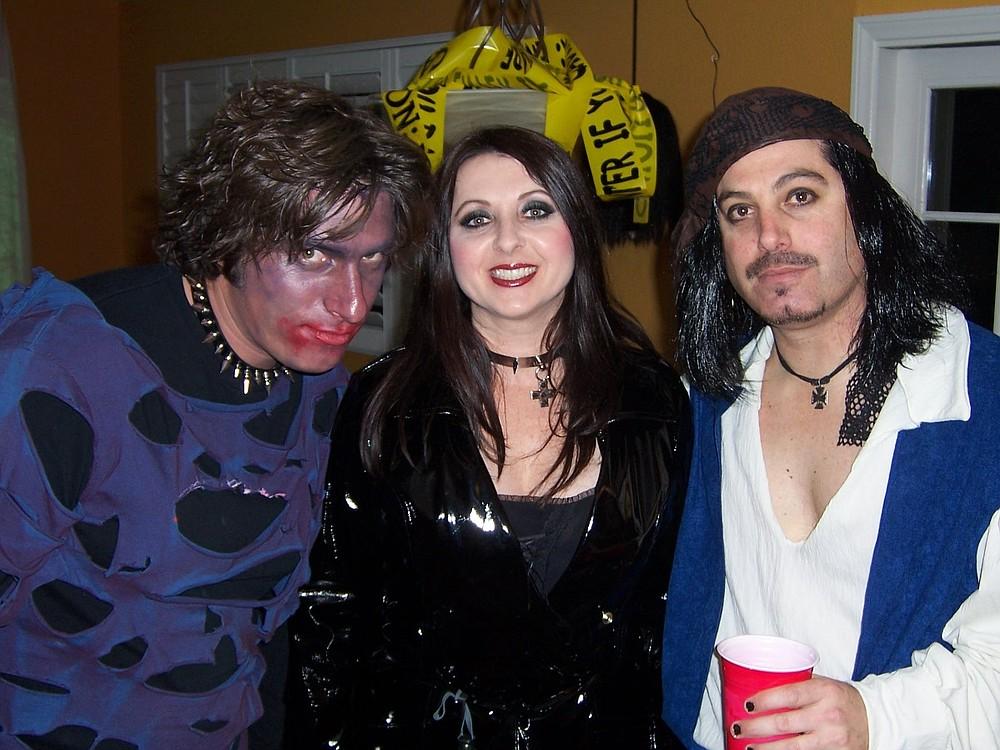 Nick, Adriana, and Gerald