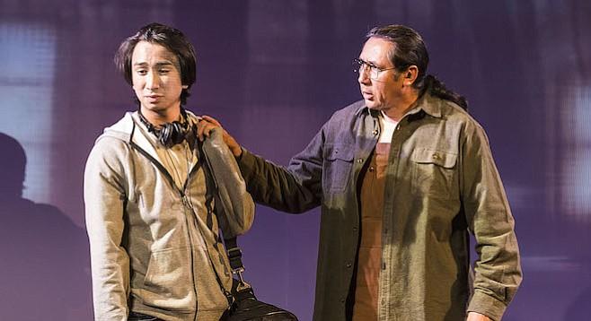 Román Zaragoza and Duane Minard