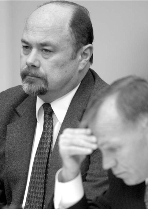 """David Westerfield at death-penalty hearing. """"You're going to know that I failed this test, because we're not working to get David...to the point where David passes the test .... That's not your goal."""""""