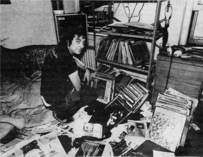 """Lester Bangs: """"Hey! I'm gonna buy some import albums! I'll get a whore I know to lend me her charge card!"""""""