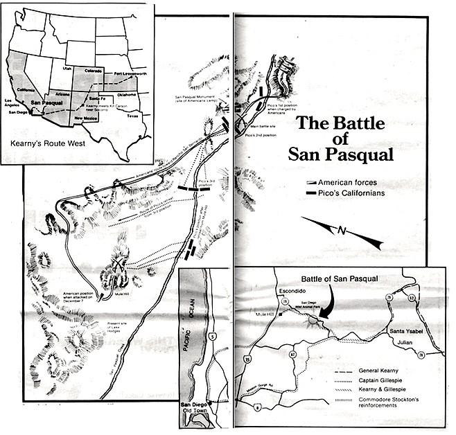 Source: battle map by eyewitness Lieutenant William Emory