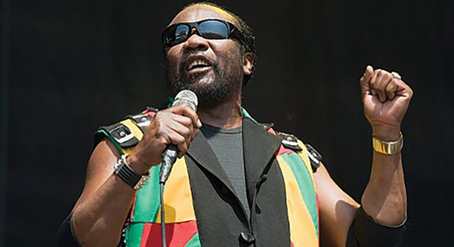 "Grammy-award-winner Hibbert, the most soulful of Jamaican singers, appears to have no ""off"" switch."