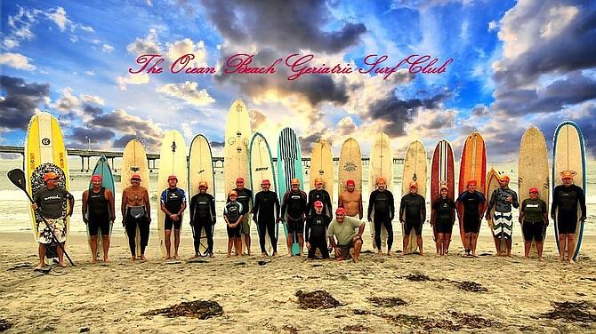 Ocean Beach Geriatric Surf Club