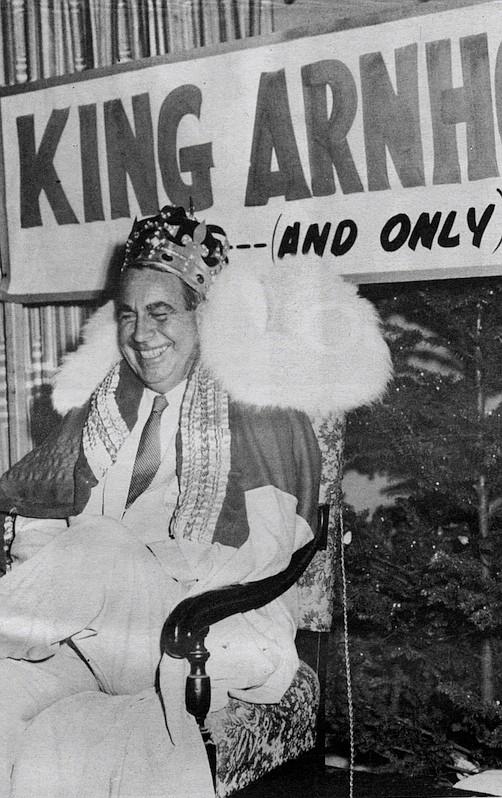 "C. Arnholt Smith, c. 1963. The San Diego Union once declared him ""Mr. San Diego of the Century."""