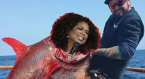 1st Oprah sighting of 2016!