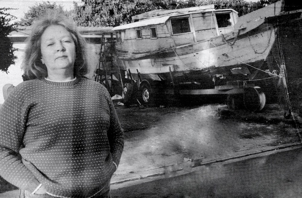"Sylvia Repine: ""I knew nothing about boats, let alone junks. But I had always wanted to live by the sea."""