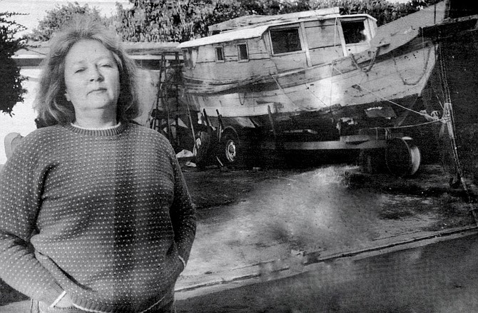 "Sylvia Repine: ""I knew nothing about boats, let alone junks. But I had always wanted to live by the sea."" - Image by Dave Allen"