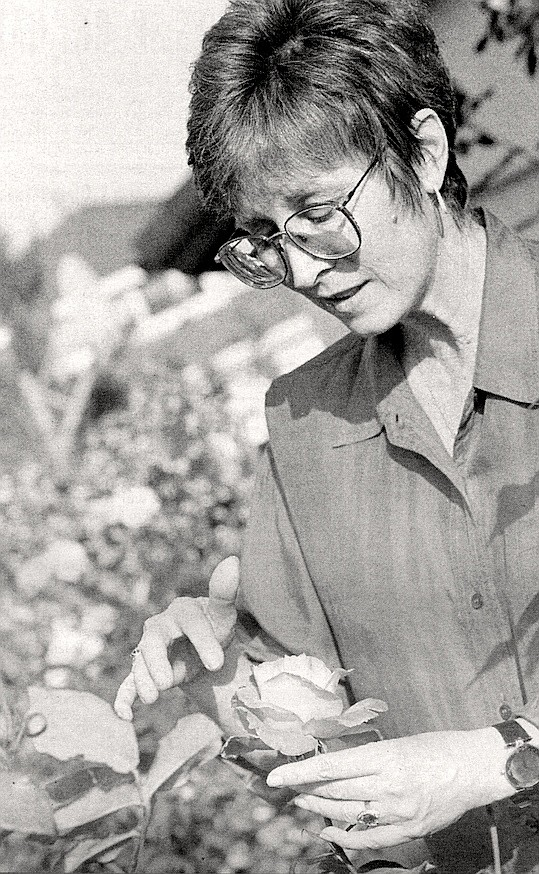 """Sally Long: """"We brought 100 roses from our previous home in the middle of summer and didn't lose one."""""""