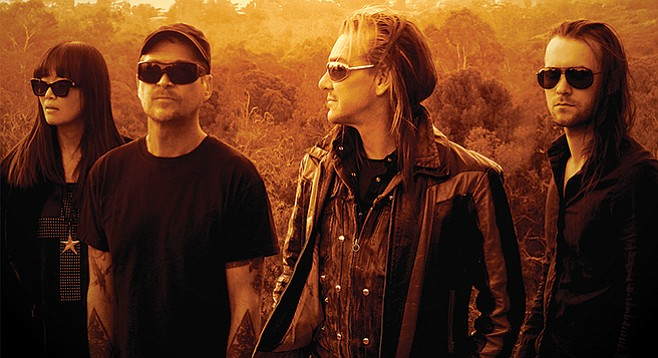 Chicago's top electro-industrial export, My Life With the Thrill Kill Kult, takes the stage at Casbah Thursday night!