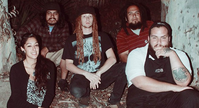 South Bay band Melvus samples the voice of deceased River Bottom Rocker Kenny Diaz into their music.