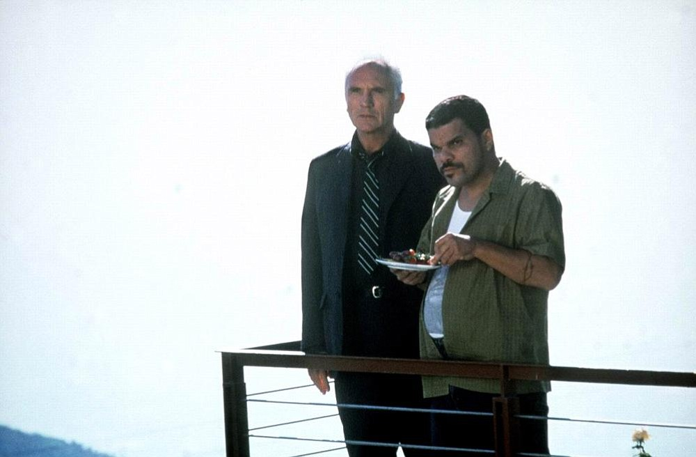 With Terence Stamp in The Limey