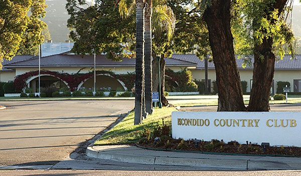 A home developer is working on plans for Escondido Country Club