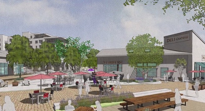 """Call it """"Two Paseo"""" — the reduced-size One Paseo development planned for Carmel Valley"""