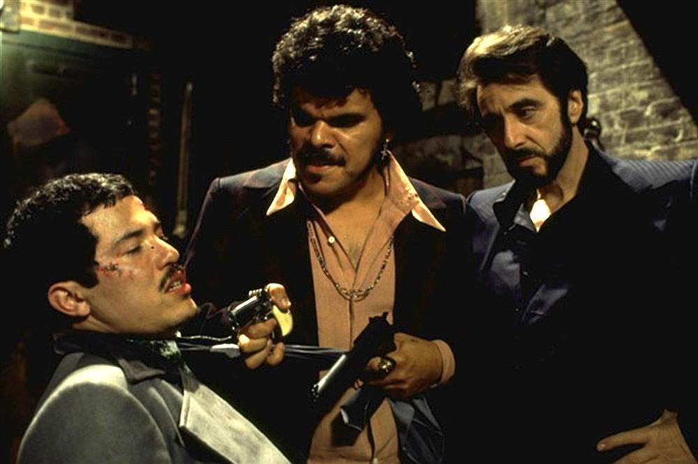 With John Leguizamo and Al Pacino in Carlito's Way