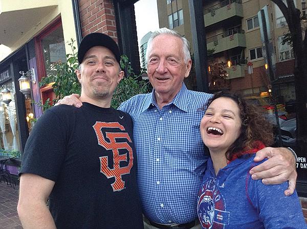 Steve, Roy, Vanessa