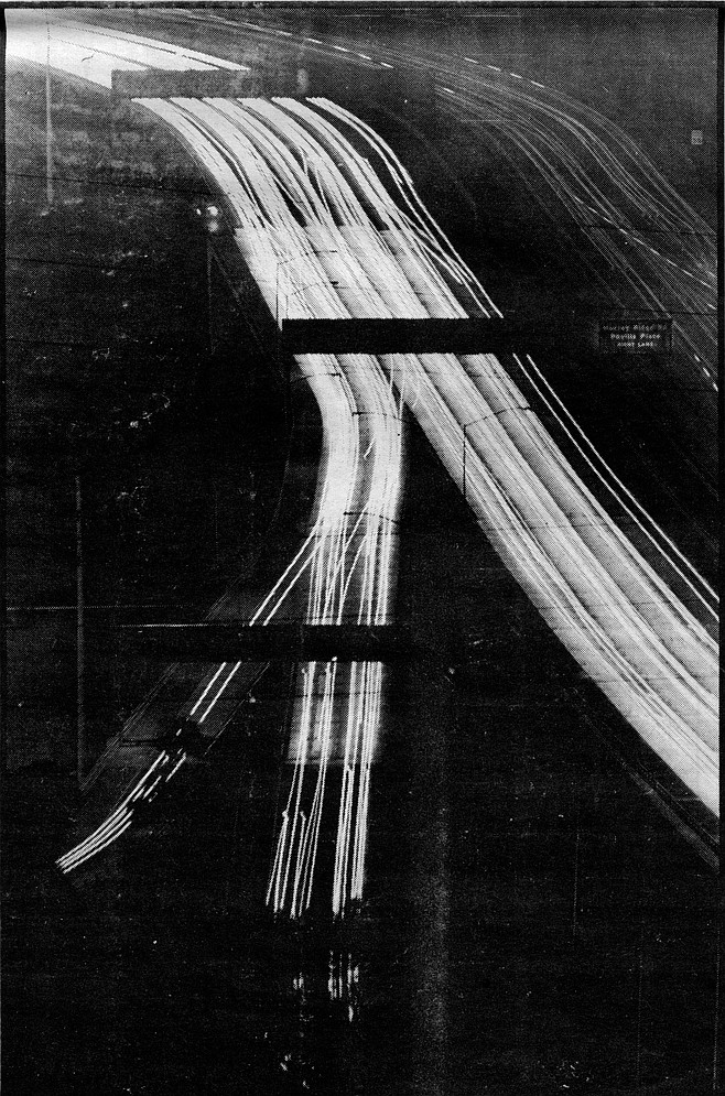 Jacob Dekema Freeway (I-805), southbound into Mission Valley. The valleys and canyons that give the area so much of its character break up the pattern of streets and make it hard to get around on anything but the freeways.