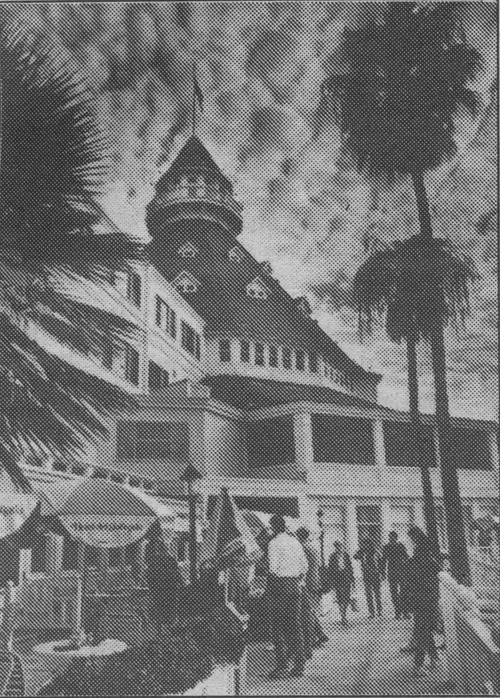 The Democratic Central Committee's annual Jefferson-Jackson dinner took place at the Hotel del Coronado; afterward, there was a second bash for Clinton, this one a $50-a-head jazz reception on the hotel's Promenade Deck.