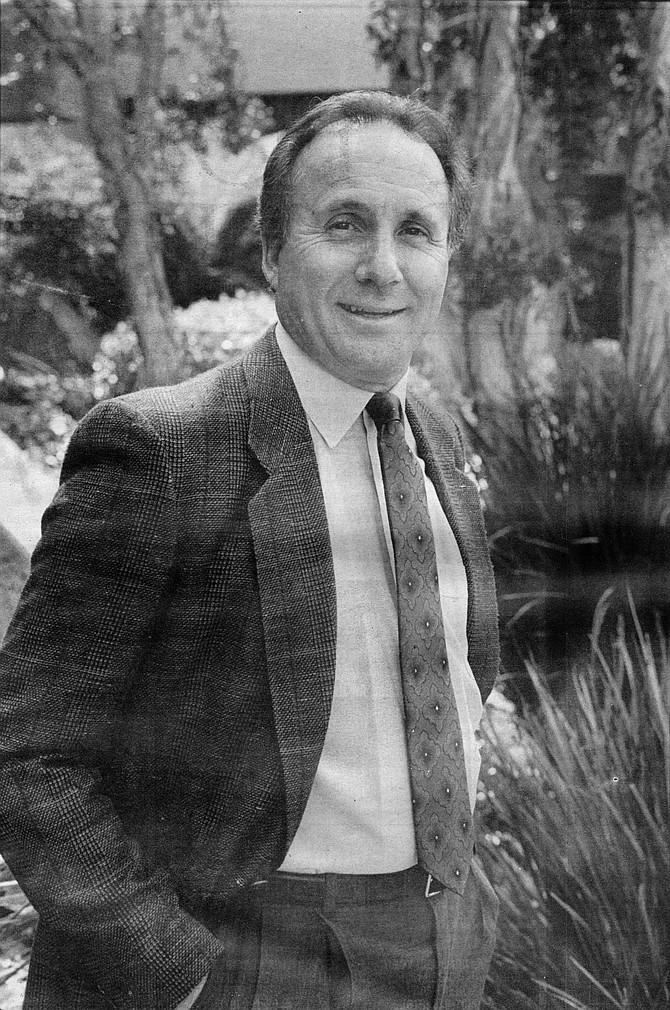 """Michael Reagan: """"What I wanted to do most when my dad got out of office was find out who Mike Reagan is. Because Mike Reagan has always been the son of somebody all of his life."""" - Image by Paul Stachelek"""