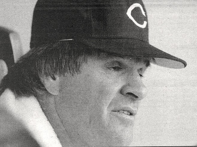 "Pete Rose. ""Listen, if I decide to be a designated hitter, you'll be the first guy I let know. What's your phone number? I'll call you the moment I decide."" His buddies were laughing now."