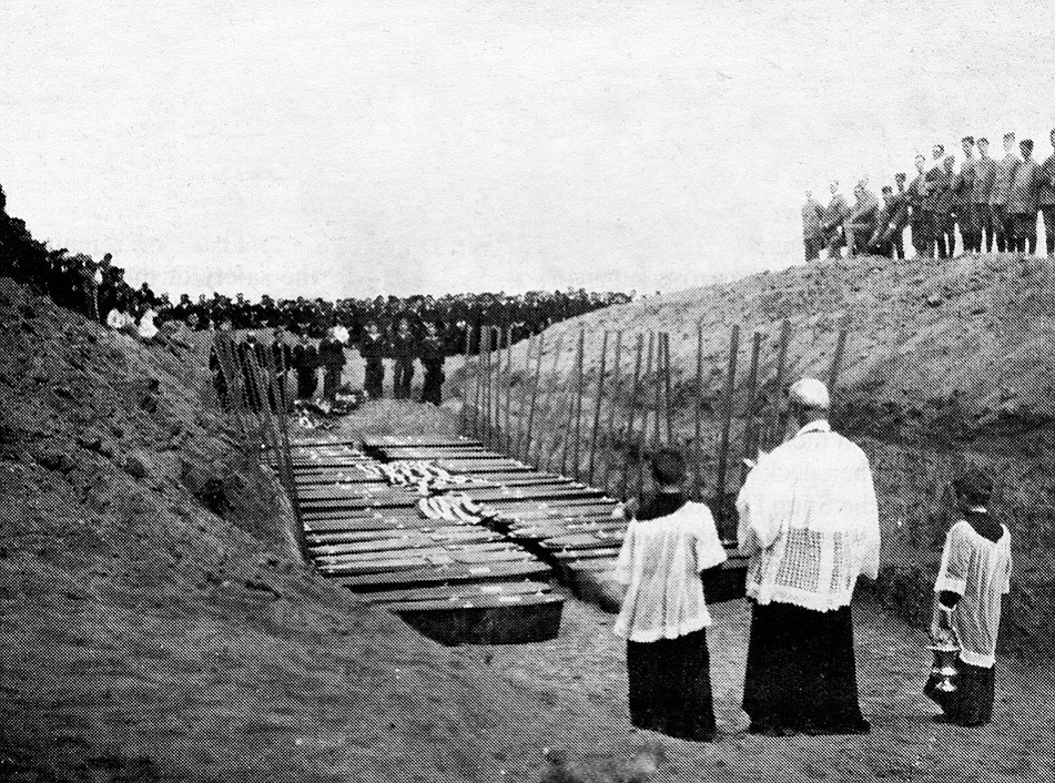 """As for the dead whose graves were buried on Point Loma two days later, the Navy did a turnaround on shipping the bodies to their loved ones. Originally, naval officials had """"forgotten"""" that Congress after the sinking of the Maine authorized funds for sending bodies of sailors home."""