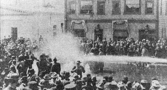 I.W.W. riot, 1912