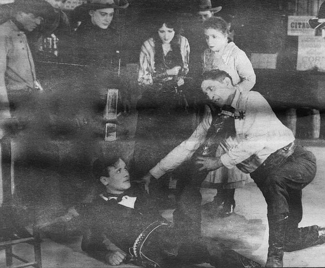 Scene from Beloved Bandit, c. 1925
