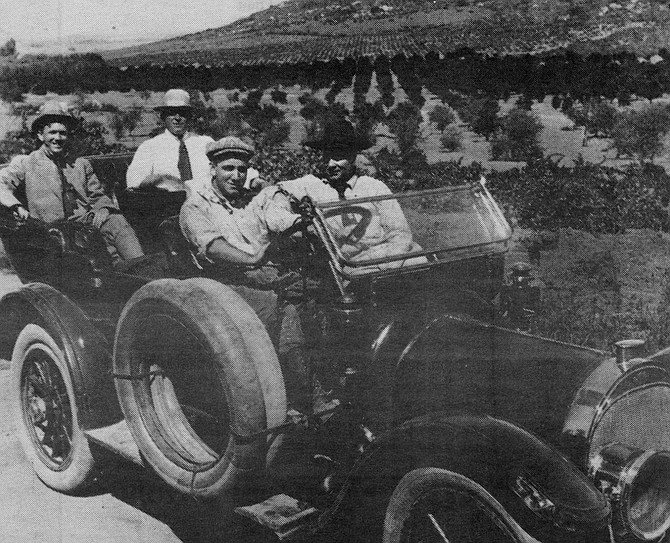 Flying A film crew in La Mesa, c. 1911. During the company's East County stint (1911-1912), Flying A ground out hundreds of westerns, comedies, and documentaries at the rate of two a week.