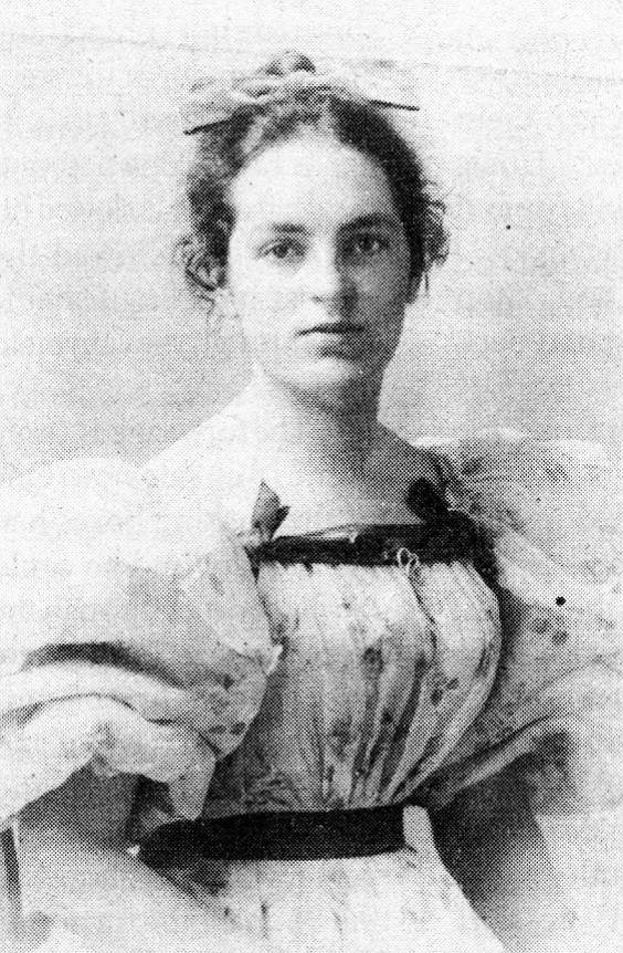 Grace Wallraven Lawrence (author's grandmother), 1895. Grandmother instituted her Sunday salons, glorified afternoon-tea parties, to which she invited the Marstons, the Klaubers, and Colonel Fletcher and kin.