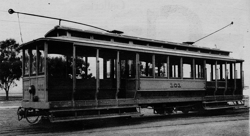 The spacious trolley car carried them up Sixteenth Street and down Broadway, where at Horton Plaza they switched to the line heading up what is now Pacific Highway.
