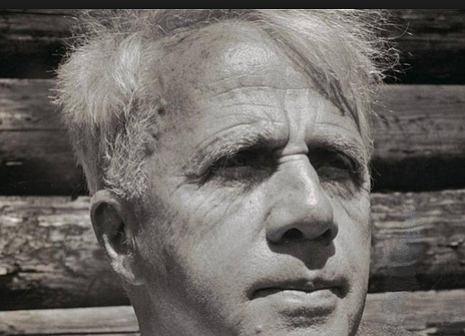 """Robert Frost. The teacher always asked, """"What do you suppose the poet intended with his mention of 'promises to keep?' """""""