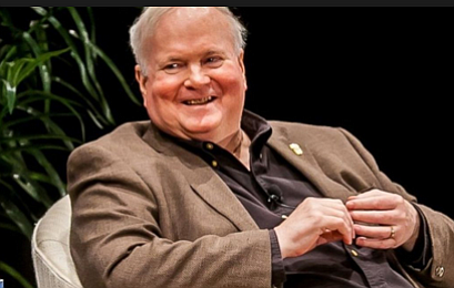 """Pat Conroy: """"General Mark Clark decided he was going to have the Citadel with the toughest plebe system in the world."""""""