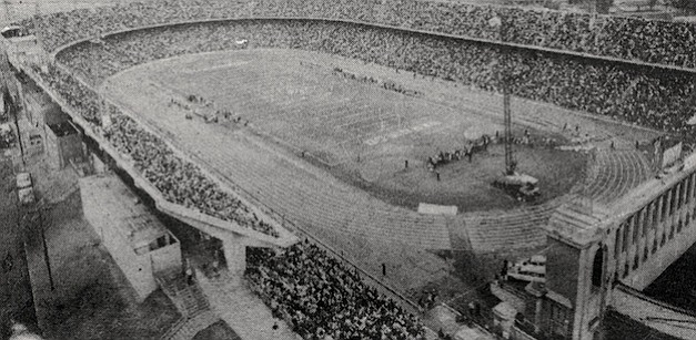 "Gillman called Balboa Stadium locker rooms ""a hellhole,"" and when he first saw the gridiron in January of 1961, his heart sank."