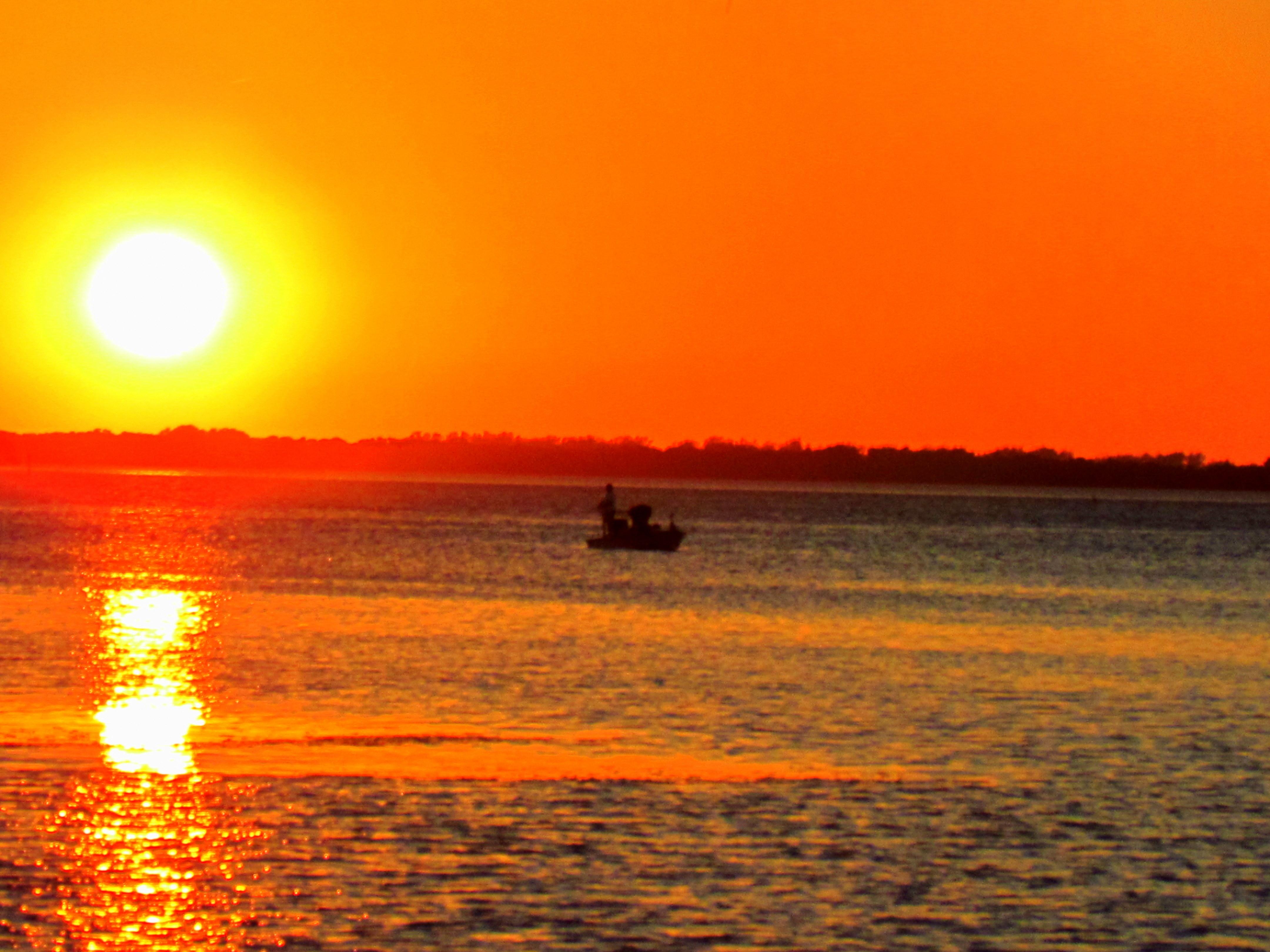 Florida's Lake Country Sunset