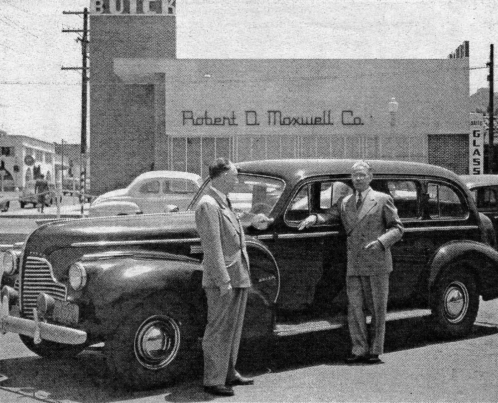 Local Buick dealer, c. 1940