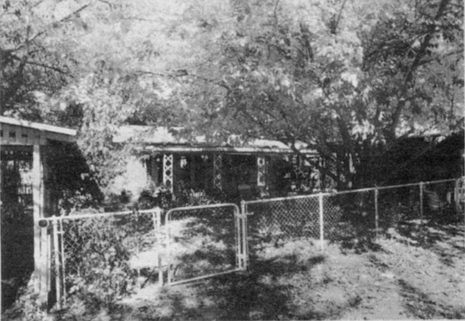 The Ponchetti home. The man agreed to sell the shack to the Ponchettis for seventy-five dollars. Ponchetti moved his family into the house and began remodeling it,