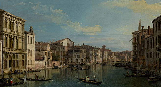 Grand Canal, Venice: Canaletto's pictures were a fair visual approximation of life as it was lived in that marine culture.