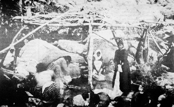 Hot Springs at Cupa. That Warner was not looking out for the welfare of the Cupeños is evident by an addendum to the treaty, which set aside for Warner one square league of Cupa for the purpose of improving the hot springs.