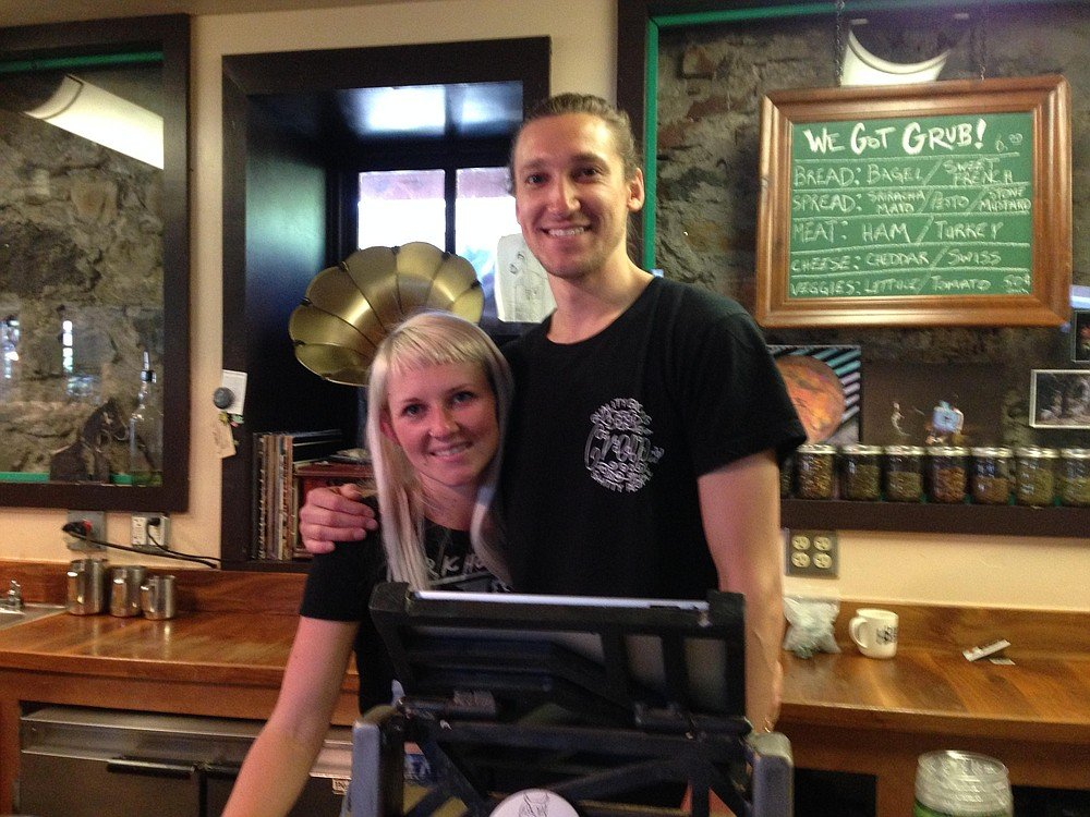 Cassidy and Drew Taylor moved from San Diego to the Lake Tahoe region to open Dark Horse Truckee.