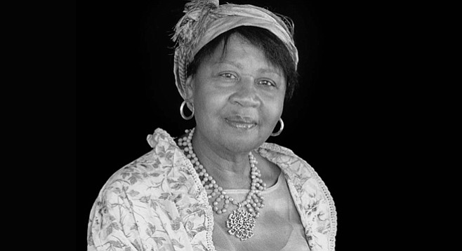Jamaica Kincaid. After loss of her mother's entire attention, she turned to books.