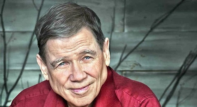 "James Lee Burke: ""used to write poetry, but by popular demand, I stopped"""