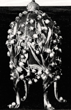 Lilies of the Valley Egg, 1898. There wouldn't even be a Soviet state if it weren't for the sort of self-indulgent silliness embodied by Fabergé's eggs