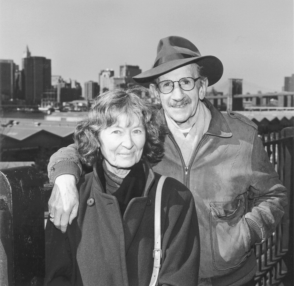 """Frances and Philip Levine on Williams: """"She wrote about her life in West Fresno, and she made her world come alive for the reader."""""""