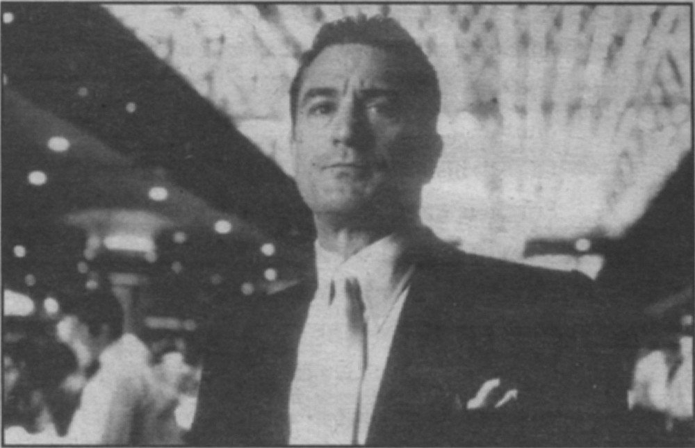 "Robert De Niro as character in Casino based on Frank ""Lefty"" Rosenthal"