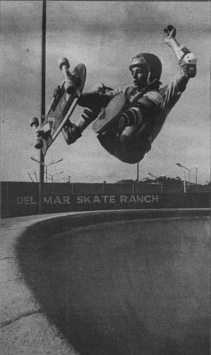Tony Magnusson. There is something powerful about a photograph of a skater who is captured in that instant of impossible air.
